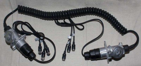 3 camera suzie trailer cable