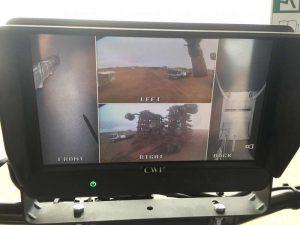 9in Quad Screen