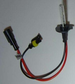 H4 35 watt HID Globe