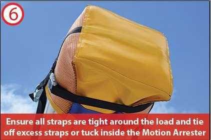 Motion Arrester Bag