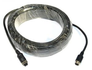 15 metre 4 pin camera extension cable