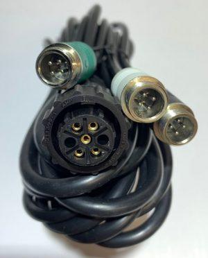 3 camera input adapter harness for 6000 series John Deere