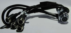 4 camera cable for implements