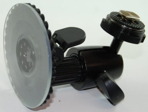 Suction cup swivel mount bracket for screens