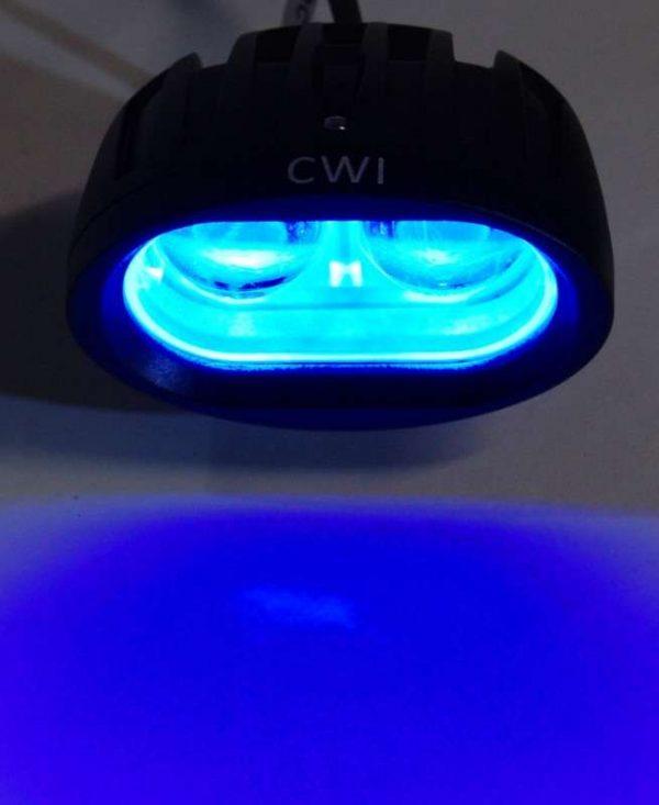 10 Watt Blue LED for boomspray illumination