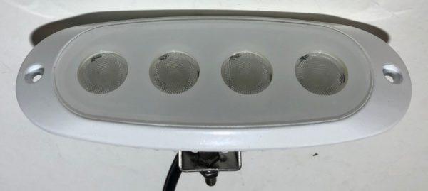 12 watt Recessed LED white marine flood light
