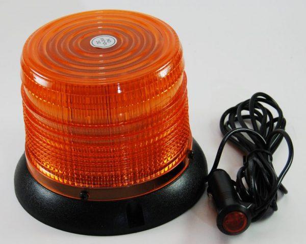 Amber rotating LED Flashing light