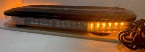 60 Watt LED amber flashing warning light