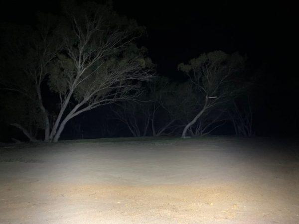 30 Watt LED Flood Light, night time shot