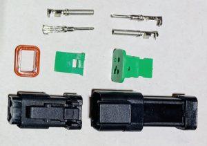 Deutsch D2 Connector Plug, 1 piece pack