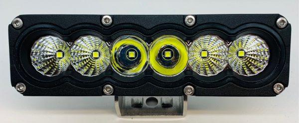 60 Watt Osram LED Mini-Lightbar Combo Beam